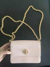 TORY BURCH Crossbody Clutch Bag, Pink, Excellent Condition