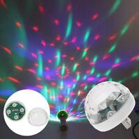 LED USB Car Ambient Light 5V RGB Mini Light Color Changing Sound Actived 50-60Hz