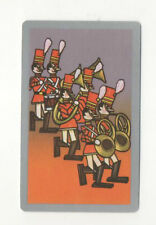 Swap Playing Cards 1 Japanese 1960's Disney  Toy Soldiers 3/4 Size A110