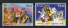 Sri Lanka 2016 MNH Christmas Nativity Baby Jesus Mary 2v Set Stamps