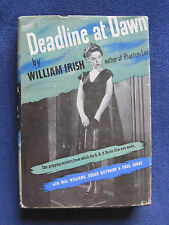 CORNELL WOOLRICH - DEADLINE AT DAWN by WILLIAM IRISH Movie Tie-In Edition in DJ