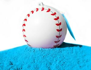 J&M Gender Reveal Baseball - 100% All Natural Holi Powder (Blue or Pink)