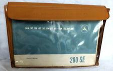 Mercedes-Benz 1969 280SE 280S European Delivery Owner's Manual Set.