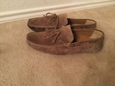 Sparco Magny Kours  Authentic Genuine Suede Moccasins Loafers Shoes Sz44/10.5