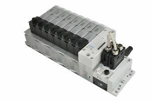 FESTO valve terminal 8x5 / 2 VSVA-B-M52-MZD-A1-1T1L, VTSA-FB, CPX-FB6, VABA VABV
