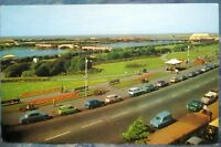 England View over the Marine Lake Southport - unposted