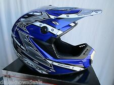 ZOX motocross helmet ROOST X adult size extra small 53-54cm BLUE