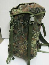 New TacGear Evasion Back Pack Rucksack German Flecktarn Camo Pattern
