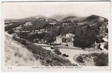 RAPHAEL TUCK REAL PHOTOGRAPH #ML40 - Malvern Hills - 1955 used postcard