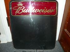 Budweiser Lighted Dry Erase Board