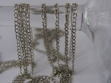 2m 'nickel' coloured chain