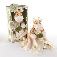 Jakka the Giraffe Plush Rattle Lovie with Crinkle Leaf Baby Shower Gift