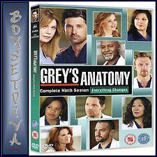 GREYS ANATOMY - COMPLETE SERIES SEASON 9 **BRAND NEW DVD  **