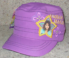 New Wizards of Waverly Place Selena Gomez Cap Hat Girls OSFM Purple Cute!!