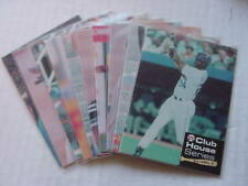 1991 KEN GRIFFEY JR CLUB HOUSE SERIES (10) CARD SET SEATTLE MARINERS NICE!!
