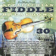 """APPALACHIAN FIDDLE BREAKDOWN, CD """"30 BLUEGRASS FIDDLE CLASSICS"""" NEW SEALED"""