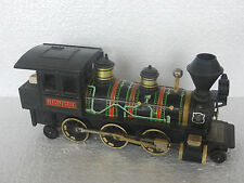 Vintage Benkei Old Fashioned Locomotive Battery Litho Tin & Bakelite Toy , Japan