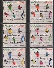 """""""TUTTO SANREMO 1951-1989""""-RARA COLLEZIONE COMPLETA 6 CD 1990 FUORI CATALOGO"""