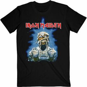 Official Iron Maiden World Slavery Tour 84-85 Mens Black T Shirt Iron Maiden Tee