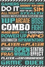 Gaming Typographic Maxi Poster 61x91.5cm GN0833 Gamers Do It All Night