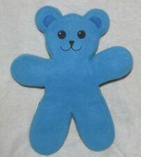 "13"" Ikea Brum Blue Plush Bear Bendable Poseable Unicef Teddy Stuffed"
