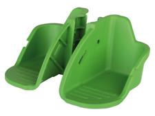 BOBIKE FOOTREST + STRAPS FOR MINI / MAXI CLASSIC CHILD BIKE SEAT GREEN