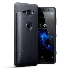 Sony Xperia XZ2 Compact Case Leather Military Tough Anti Shock Cover Protector