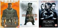 BLADE Trilogy Complete DVD Movie Collection Part 1 2 3 All Films Wesley Snipes