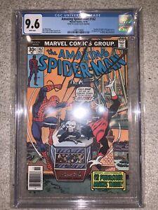 Amazing Spider-Man 162 CGC 9.6 1st Appearance Jigsaw