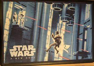 Star Wars: A New Hope (2020 BNG) Matt Ferguson 36x24 Screenprint Poster