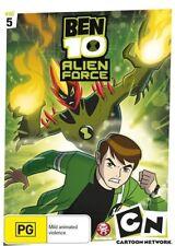 Ben 10 - Alien Force : Vol 5 (DVD, 2009) New Region 4