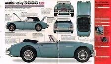 AUSTIN-HEALEY 3000 SPEC SHEET/Brochure/Catalog: 1964