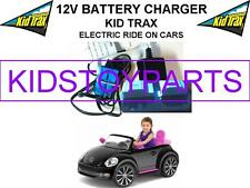 12 Volt Battery Charger KID TRAX VW VOLKSWAGEN BEETLE w/ Blue Connector