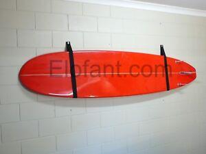 SURFBOARD GARAGE STORAGE RACK / STRAP SYSTEM