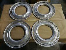 4 Anelli copricerchio in alluminio per cerchi da 14 pollici,Forse NSU /straniere