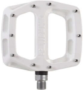 DMR V12 Flat Pedals - White