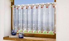Scheibengardine Bistrogardine Gardine Vorhang Höhe  30 cm Breite 160cm teilbar