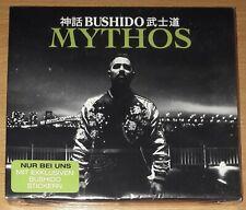 """Bushido """"Mythos"""" CD Slipcase (Rap/Hip Hop) DE"""