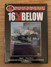 16 Below skateboard dvd Brand New P-rod Terry Kennedy skateboarding Es Etnies