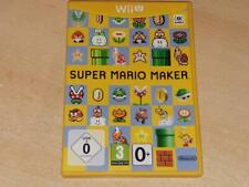 Super Mario Maker Nintendo Wii U UK PAL **FREE UK POSTAGE**