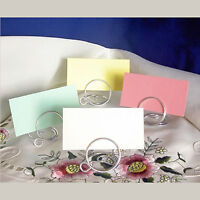 Wedding Table Place Setting Name Cards For Holders Birthday Anniversary Blank