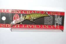 "lucky craft bevy shad 50fc suspending lure 2"" 1/8oz ghost northern pike"