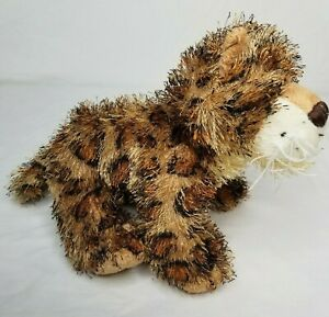 "Webkinz Plush Leopard No Code Ganz 9"" Cheetah Cat Floppy Soft Toy Stuffed Animal"