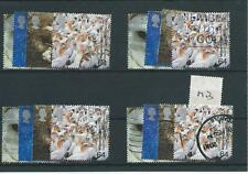 GB - COMMEMORATIVES - 2000 - M13 - FOUR SETS - ABOVE &  BEYOND - JAN - USED