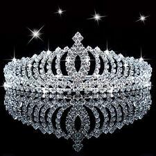 Accesorios Para El Cabello De Novia Boda Tiara Crystal Tiara Novia dama horquilla