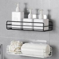 Kitchen Bathroom Shower Caddy Shelf Corner Wall Mount Storage Rack Organizer New