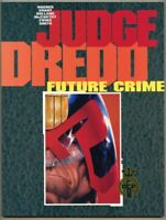 GN/TPB Judge Dredd Future Crime 1990 vf/nm 9.0 Brian Bolland