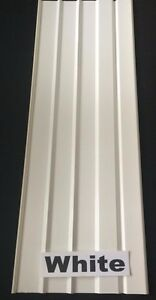 """Mobile Home Skirting Vinyl Underpinning Panel WHITE  16"""" W x 46"""" L (10 Pieces)"""