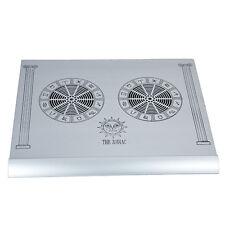 Zodiac Laptop Cooler High Performance Super Slim Pure Aluminum With 2 Fans