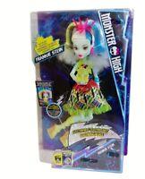 """Mattel Monster High """"elektrisierte"""" Frankie Stein Puppe DVH72 mit Licht + Sound"""